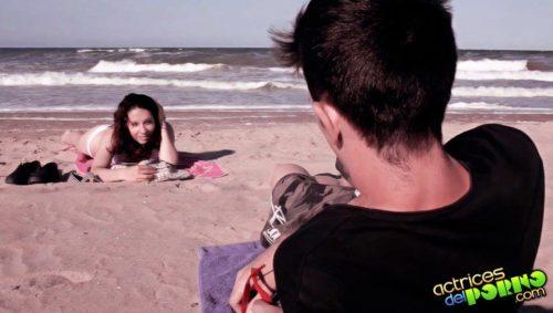 Una de sus escenas favoritas para la serie New Generation con su novia